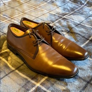 Aldo Brown Leather Dress Shoes